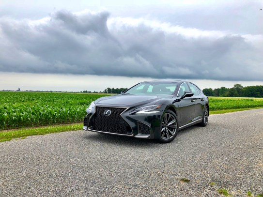 2018 Lexus LS 500 F Sport Review - 19